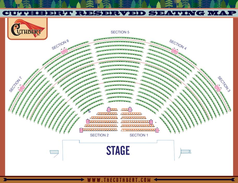Cuthbert Amphitheatre The Premier Outdoor Concert Venue