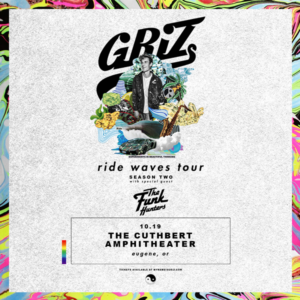 Griz live in The Cuthbert Amphitheater on October 19, 2019