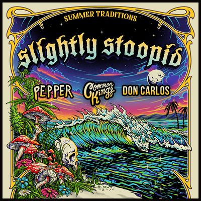 Slightly Stoopid to play The Cuthbert Amphitheater on June 21, 2021