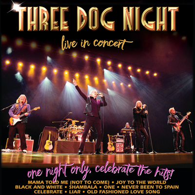 Three Dog Night live at The Cuthbert Amphitheater in Eugene, Oregon on September 26, 2021